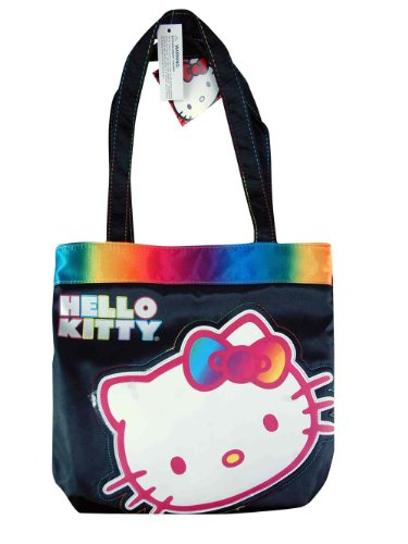 Tote-Bag-Hello-Kitty-Rainbow-Satin