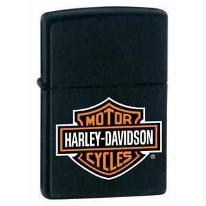Zippo Harley Logo Black Matte Lighter