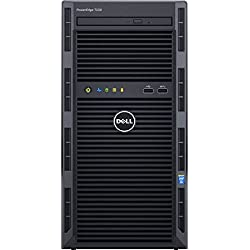 Dell PowerEdge T130 Tower Server with Intel Quad Core E3-1225 v5 / 4GB / 500GB / 1 Year Basic Warranty