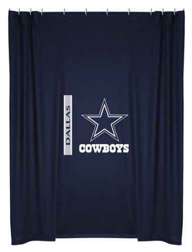 Sports Coverage NFLCowSC Dallas Cowboys Shower Curtain at Amazon.com