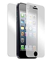 CRONUS Premium Grade Front & Back Tempered Glass Screen guard with Oleophobic coating for Apple iPhone 4 / 4S