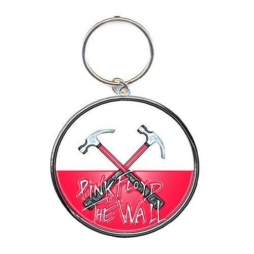 Pink Floyd - Keyring Schlüsselanhänger - Hamemrs Logo (in One Size)