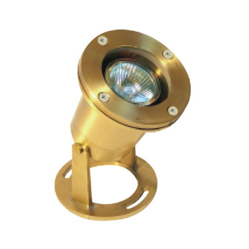 4 Watt - LED - Neptune Underwater Light - Solid Brass - Brass Finish - 3000K - 12 Volt - Greenscape H20-502B-LED-MR16-3