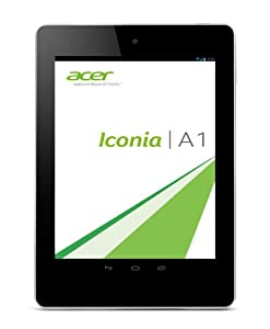 Acer Iconia A1-810 20.1 cm (7,9 Zoll) Tablet-PC (ARM MT8125, 1,2 GHz, 1GB RAM, 16GB SSD, MT8125, Android OS) ivory gold