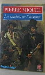 Les  Oubliés de l'histoire