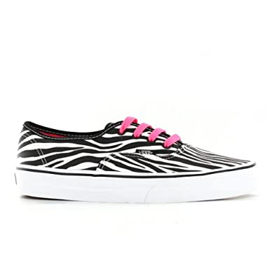 Buy Vans Classic Authentics Zebra Youths Trainers by Vans