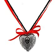 The Reliquary Heart Locket Alchemy Gothic Necklace