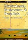 img - for Lonely Planet Zimbabwe, Botswana and Namibia Travel Atlas by Deanna Swaney (1996-01-03) book / textbook / text book