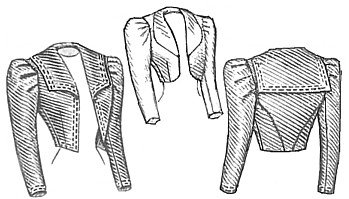 1898 Eton Jacket Pattern (Old Dresses For Women compare prices)