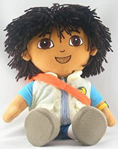 Go Diego Doll Rescue Backpack 14 Plush Doll Toy by nickelodeon