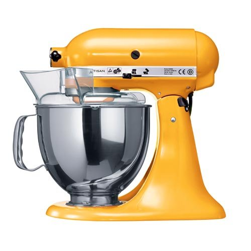 KitchenAid Artisan Mixer, Yellow Pepper