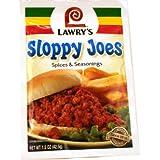 Sloppy Joes Spicies & Seasoning - 1.5oz (Pack of 6)