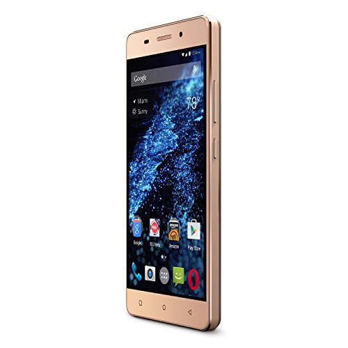 BLU Energy X LTE - 4000 mAh Super Battery - GSM Unlocked - Gold