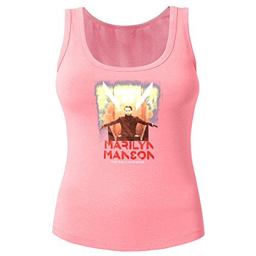 Marilyn Manson For 2016 Womens Printed Tanks Tops Sleeveless t shirts