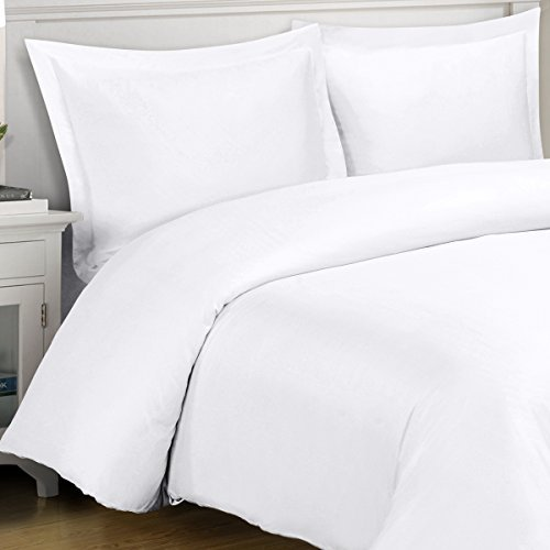 Rayon From Bamboo Duvet Cover Set Full Queen White 100