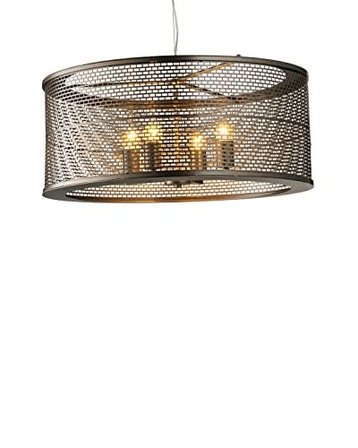 Varaluz Lit Mesh Test 4-Light Pendant, New Bronze