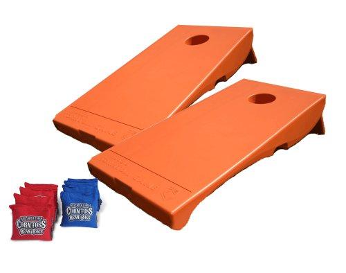 Driveway Games All Weather Corntoss Bean Bag Game - Orange front-357496