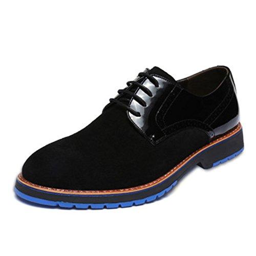 Chaussures en cuir pour hommes/chaussures de sport de l'Angleterre en daim cuir hommes/chaussures d'outillage/Big chaussures