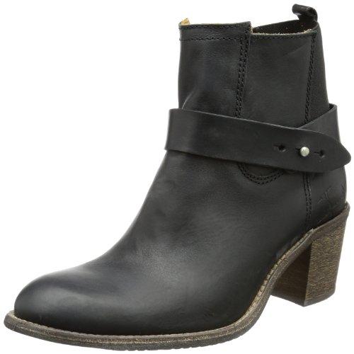 Goldmud Womens Durnago Schlupfstiefel Black Schwarz (black) Size: 3.5 (36 EU)