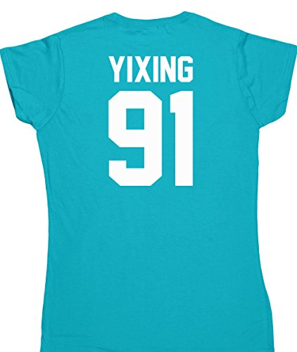 hippowarehouse-yixing-91-printed-on-the-back-womens-fitted-short-sleeve-t-shirt