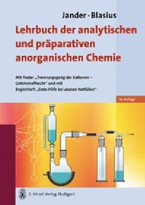 Jander/Blasius Lehrbuch der analytischen und präparativen anorganischen Chemie: Mit Poster