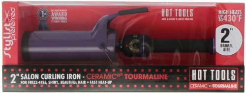 '2″ CeramicTi® Tourmaline Spring Iron MODEL 2111'
