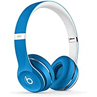 Beats by DRE Solo 2 ML9F2AM-AW Over-Ear 3.5mm Wired Headphones (Luxe Blue)