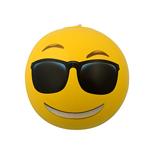 Emoji-Universe-12-Emoji-Inflatable-Beach-Balls-12-Pack
