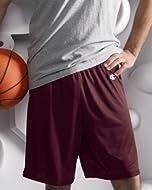 Buy Champion Polyester Mesh Shorts - ATHLETIC DARK GREEN - S 3.7 oz. Polyester Mesh by Champion