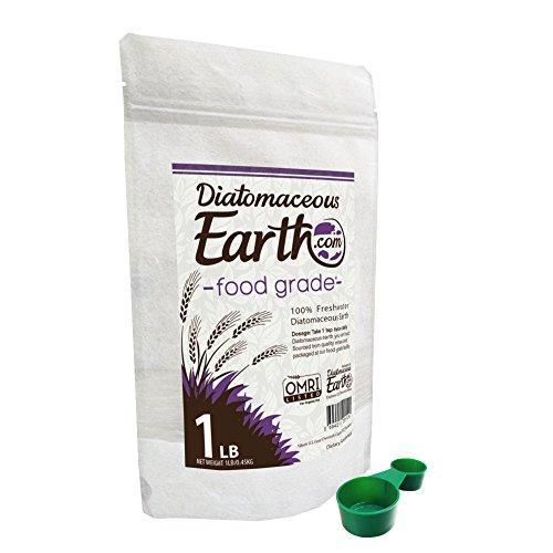 Diatomaceous Earth 1 Lb Food Grade DE - Includes Free Scoop