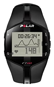 Buy Polar Ft80 Heart Rate Monitor (Black With White Display) by Polar