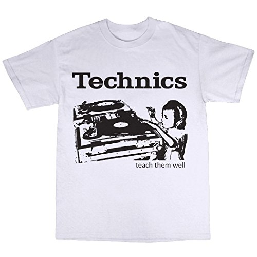 SL-1210 DJ Decks T-Shirt (Technics Mk2 Turntables compare prices)