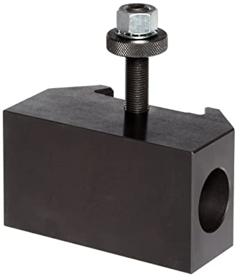 "Dorian Tool QITPN-5 Chromium Molybdenum Alloy Steel Quick Change Morse Taper Toolholder for QITP40N Quadra Indexing Quick Change Tool Post, MT4, 2-1/2"" Height"