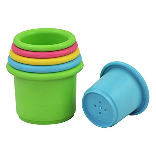 green sprouts Sprout Ware Stacking Cups made from Plants (6 cups) - 1