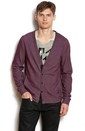 (新品)Armani Exchange阿玛尼男士针织开衫毛衣  Ribbed Cardi官网第3方折后$34.3