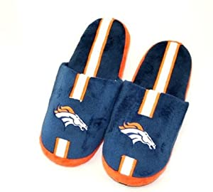 Denver Broncos Mens Slippers House Shoes