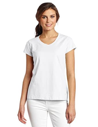 Champion women 39 s favorite v neck tee for Womens tall v neck t shirts