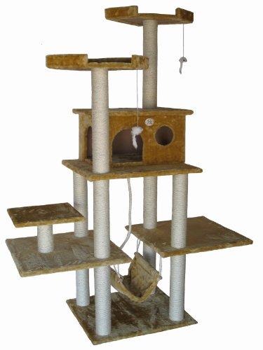 Go Pet Club Cat Tree Beige Color