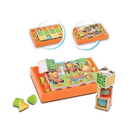 Smoby - 211126 - Jeu éducatif premier âge - Cotoons Cubes