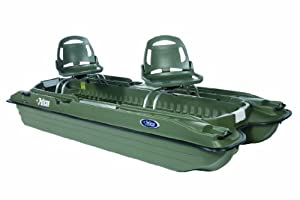 Pelican Bass Raider 10E Fishing Boat, Khaki by Pelican