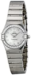 Omega Womens 111.15.23.60.55.001 Mother-Of-Pearl Dial Constellation