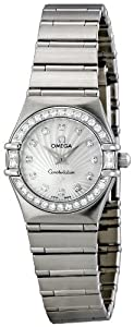 NEW OMEGA CONSTELLATION LADIES MINI WATCH 111.15.23.60.55.001