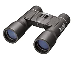 Bushnell PowerView 12x 32mm Compact Folding Roof Prism Binocular (Black)