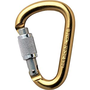 Hera Attache Screw Lock Carabiner - - TURQUOISE