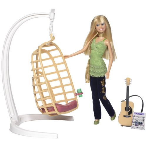 Hannah Montana Song Writin Swing with Doll