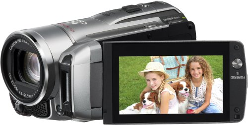 Canon LEGRIA HF M306 AVCHD-Camcorder (SDHC-Slot, 15-fach opt. Zoom, 6,8 cm (2,7 Zoll) Display) silber