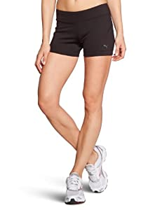 PUMA Ess Women's Gym Shorts Tight-Fitting black Size:L