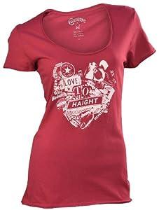 Converse Women's Chuck Taylor All Star Statement T-Shirt-Fuchsia-XL