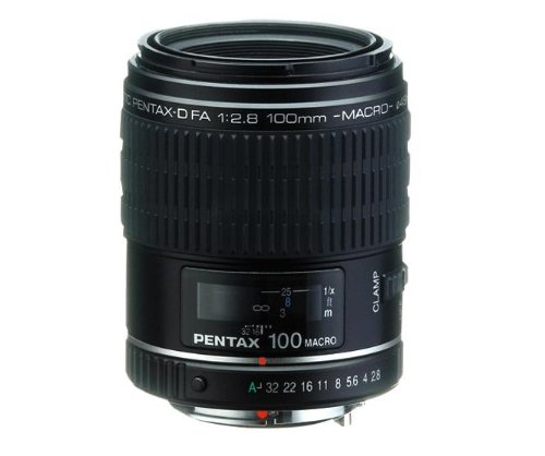 Pentax D Fa 100Mm F/2.8 Macro Lens For Pentax And Samsung Digital Slr Cameras