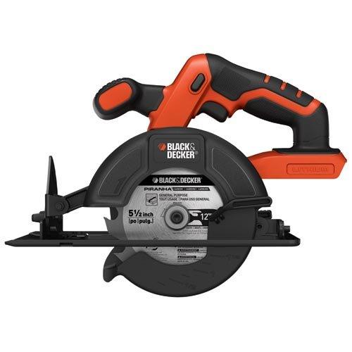 Black & Decker BDCCS20B 20-volt Max Circular Saw Bare Tool, 5-1/2-Inch